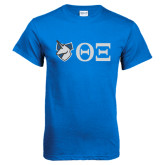 Royal T Shirt-Unicorn with Greek Letters