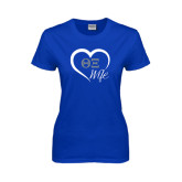 Ladies Royal T Shirt-Wife Heart