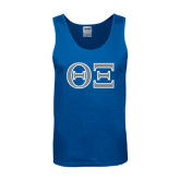 Royal Tank Top-Greek Letters - One Color