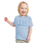 Toddler Light Blue T Shirt-Greek Letters - Future Theta Xi