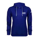 Adidas Climawarm Royal Team Issue Hoodie-Greek Letters - One Color