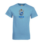 Light Blue T Shirt-Crest Est Year