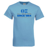 Light Blue T Shirt-Founders Day - Slogan