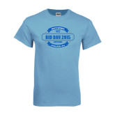Light Blue T Shirt-Bid Day - Personalized Chapter/Year