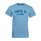 Light Blue T Shirt-Arched Alumni