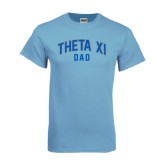 Light Blue T Shirt-Arched Dad
