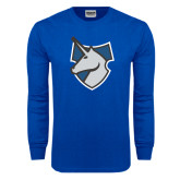 Royal Long Sleeve T Shirt-Unicorn