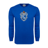 Royal Long Sleeve T Shirt-Crest