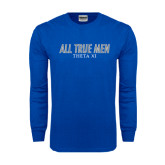 Royal Long Sleeve T Shirt-Slogan