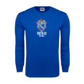 Royal Long Sleeve T Shirt-Crest Est Year