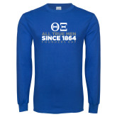 Royal Long Sleeve T Shirt-Founders Day - Slogan