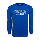 Royal Long Sleeve T Shirt-Arched Alumni