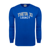 Royal Long Sleeve T Shirt-Arched Legacy