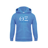 Youth Light Blue Fleece Hoodie-Greek Letters - Future Theta Xi