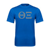 Syntrel Performance Royal Tee-Greek Letters - One Color