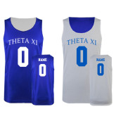 Royal/White Reversible Tank-Personalized