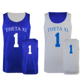 Royal/White Reversible Tank-
