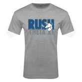 Grey T Shirt-Rush Theta Xi Stacked