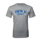 Grey T Shirt-Arched Legacy