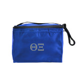 Six Pack Royal Cooler-Greek Letters - One Color