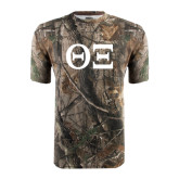 Realtree Camo T Shirt-Greek Letters - One Color