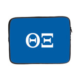 13 inch Neoprene Laptop Sleeve-Greek Letters - One Color
