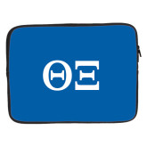 15 inch Neoprene Laptop Sleeve-Greek Letters - One Color