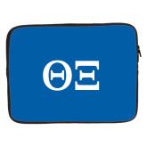 15 inch Neoprene Laptop Sleeve-Greek Letters - One Color