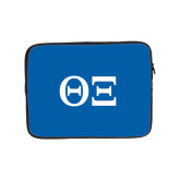 10 inch Neoprene iPad/Tablet Sleeve-Greek Letters - One Color