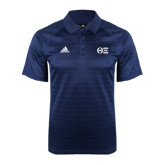 Adidas Climalite Navy Jaquard Select Polo-Greek Letters - One Color