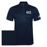 Adidas Climalite Navy Grind Polo-Greek Letters - One Color