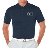 Callaway Opti Vent Navy Polo-Greek Letters - One Color