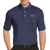 Callaway Tonal Navy Polo-Greek Letters - One Color