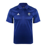 Adidas Climalite Royal Jaquard Select Polo-Crest