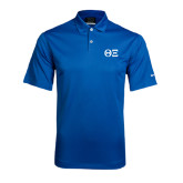 Nike Dri Fit Royal Pebble Texture Sport Shirt-Greek Letters - One Color