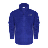 Columbia Full Zip Royal Fleece Jacket-Greek Letters - One Color
