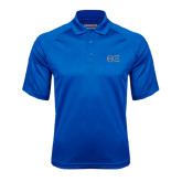 Royal Textured Saddle Shoulder Polo-Greek Letters - One Color