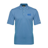 Nike Sphere Dry Light Blue Diamond Polo-Greek Letters - One Color