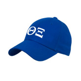 Royal Heavyweight Twill Pro Style Hat-Greek Letters - One Color