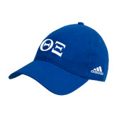 Adidas Royal Slouch Unstructured Low Profile Hat-Greek Letters - One Color
