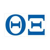 Medium Magnet-Greek Letters - One Color