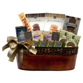 Lasting Impression Large Gift Basket-Greek Letters - One Color