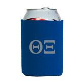 Collapsible Royal Can Holder-Greek Letters - One Color