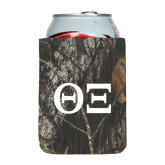 Collapsible Mossy Oak Camo Can Holder-Greek Letters - One Color