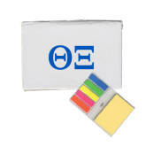 Micro Sticky Book-Greek Letters - One Color