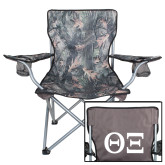 Hunt Valley Camo Captains Chair-Greek Letters - One Color