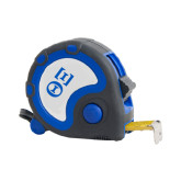 Frontier Locking Blue 25 Ft. Tape Measure-Greek Letters - One Color