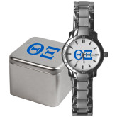 Mens Stainless Steel Fashion Watch-Greek Letters - One Color