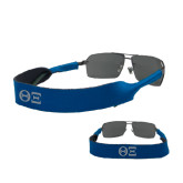 Croakies Royal Wide Band Sunglasses Strap-Greek Letters - One Color