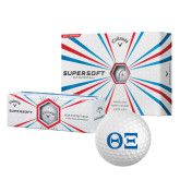 Callaway Supersoft Golf Balls 12/pkg-Greek Letters - One Color